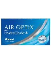Soczewki miesięczne Air Optix Plus Hydraglyde 3 szt. - oryginalne opakowania