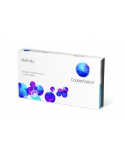 Soczewki miesięczne Biofinity 3 szt
