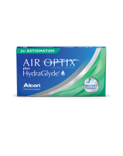 Soczewki miesięczne Air Optix plus Hydraglyde for Astigmatism 3 szt
